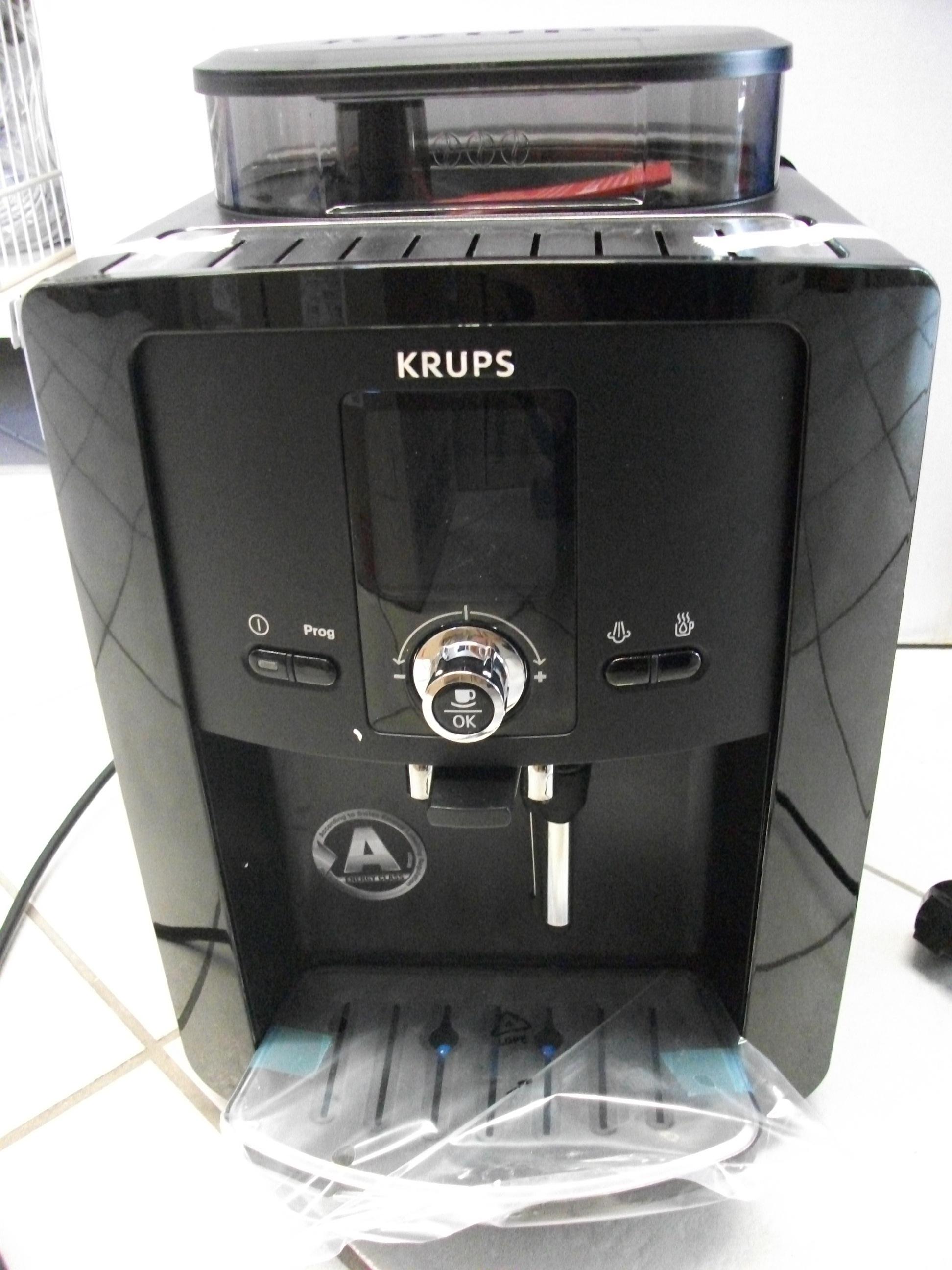 krups kaffeevollautomat espresseria automatic typ ea 8000  ~ Kaffeemaschine Oder Kaffeevollautomat
